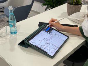 Digital Zeichnen bei den Kulturtagen 2021